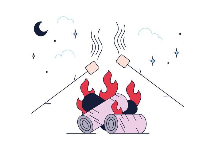Vecteur de marshmallow gratuit