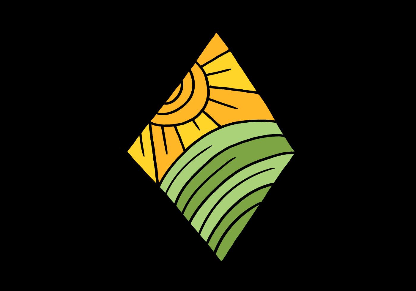 Minimal outdoor diamond badge download free vector art for Minimal art vector