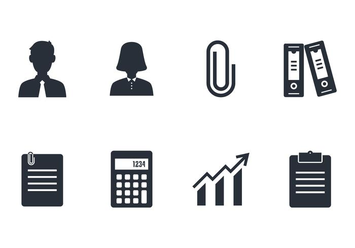 Accounting Icon Set