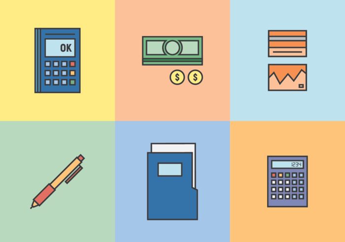 Bookkeeping and Accounting Vector