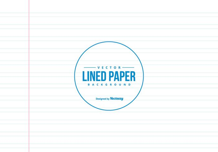 Double Lined Note Vector Paper Background  Double Lined Paper