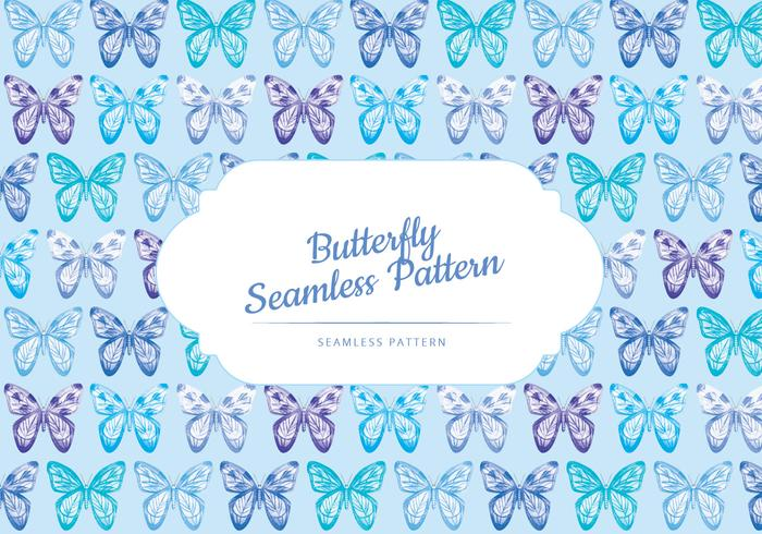 Vector Butterfly Pattern