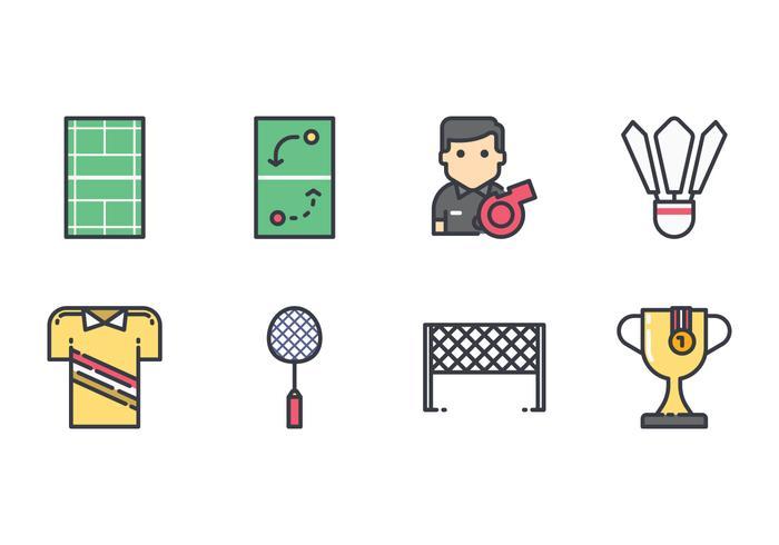 Free Badminton Icons