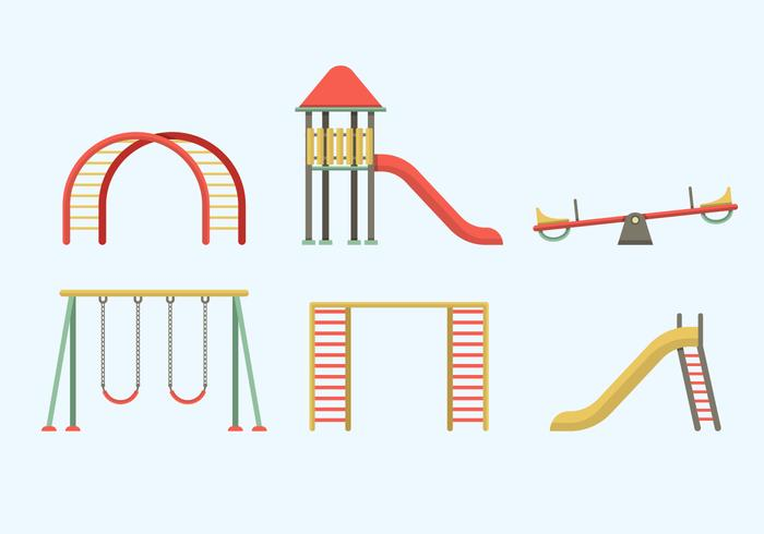 Jungle Gym Vector Elements