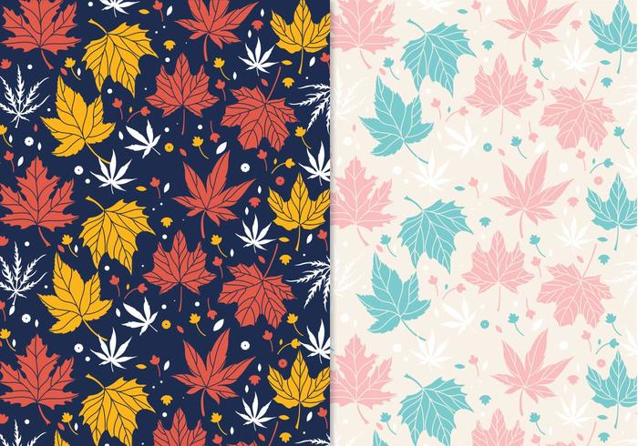 Japanese Maple Pattern Vector