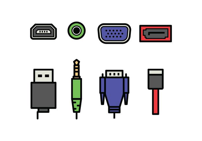 Plug and Port Icons