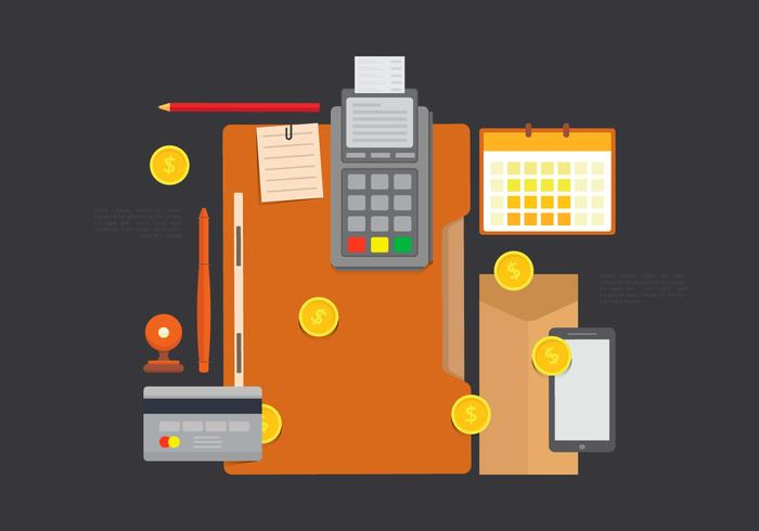Flat Design Business Concept Vector