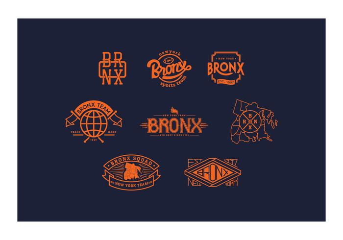 free bronx logo and badges download free vector art