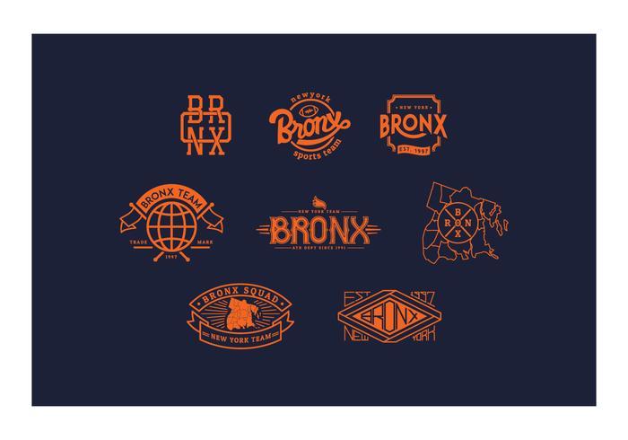 Gratis Bronx-logotyper och märken