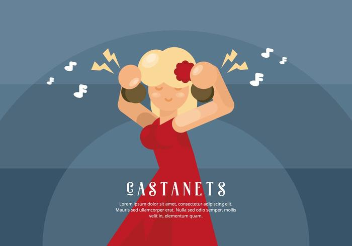 Illustration de Castanets