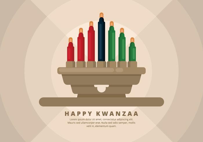 Ilustração de Kwanzaa