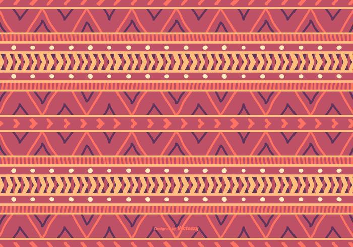 Boho Style Pattern Background