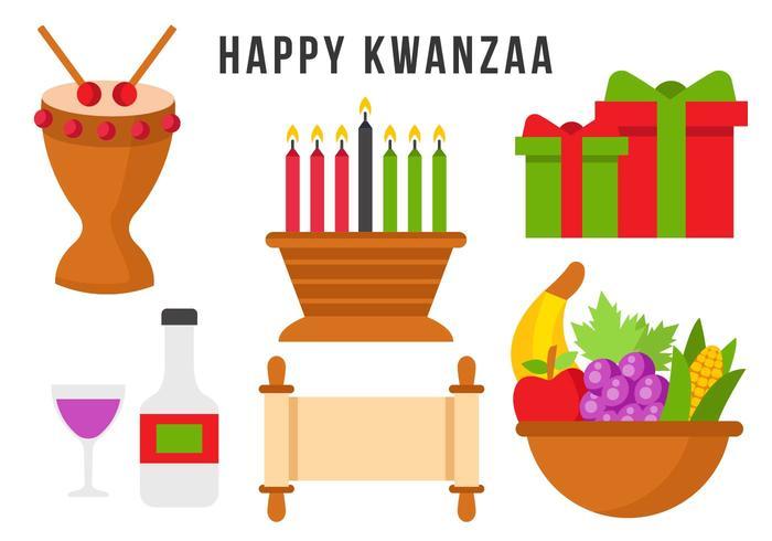 Free Happy Kwanzaa Element Vector