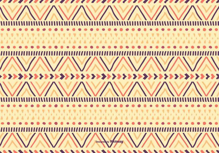 Cute Boho Style Pattern Background