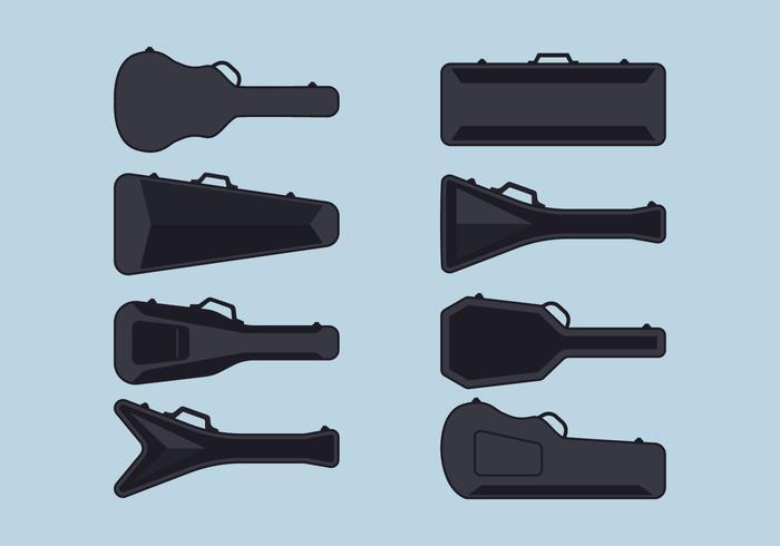Gitarrenkoffer Set