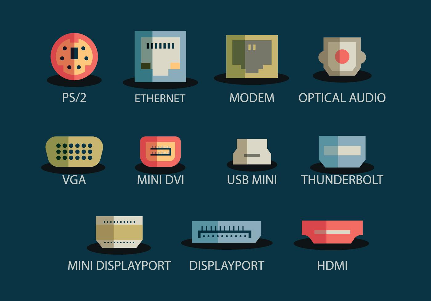 Usb Port Icon Download Free Vector Art Stock Graphics