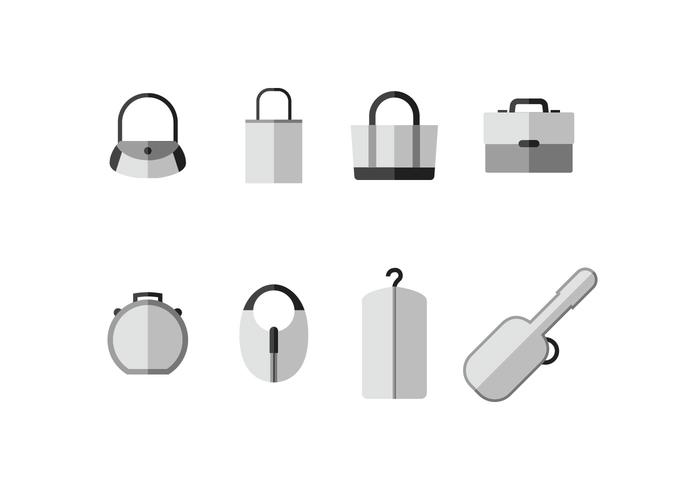 Case vector icons