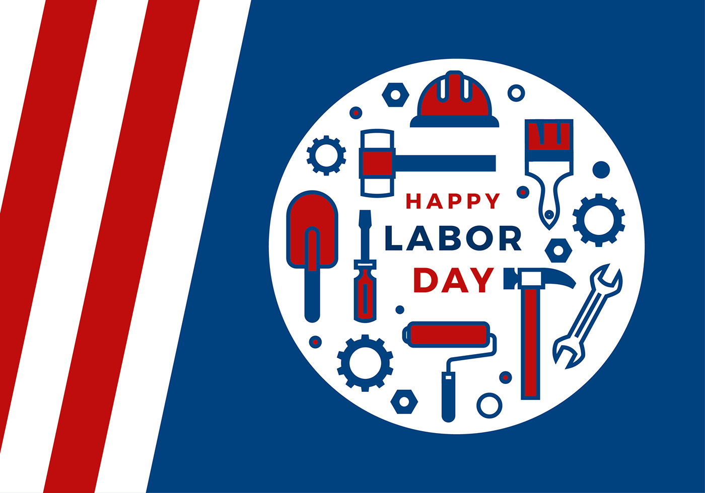Labor Day Icon Greeting Vector Download Free Vector Art Stock
