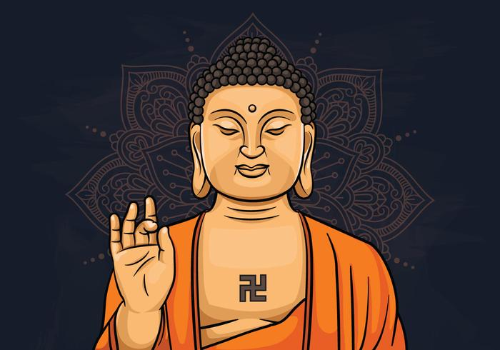 Illustration von Lord Buddha