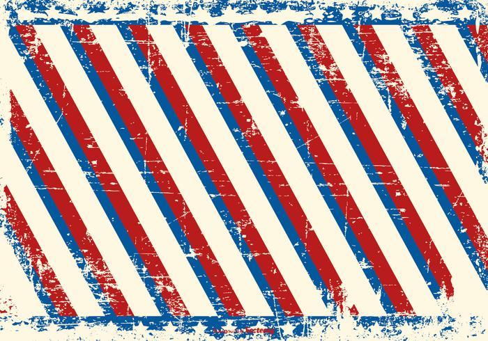 Patriotic Messy Grunge Background