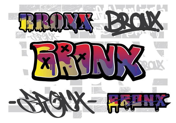 Bronx muur straat kunst