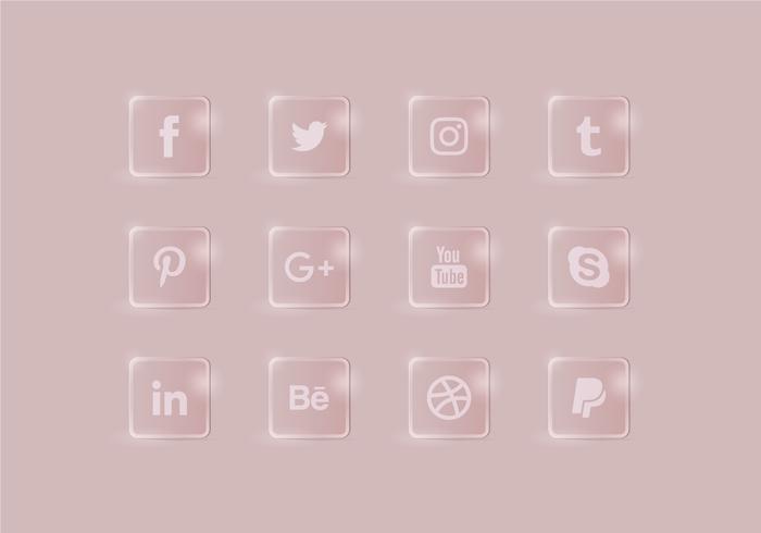 Vector Social Media Icons Set