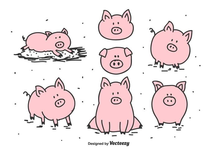 pig free vector art 1969 free downloads rh vecteezy com pig factory farming pig factory farm