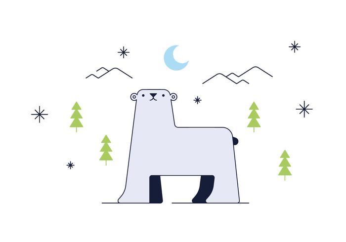 Free Polar Bear Vector