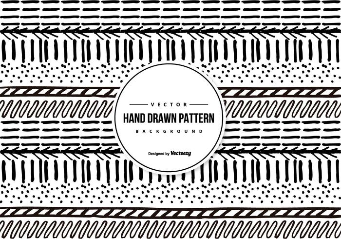 Hand Drawn Sketchy Pattern Background