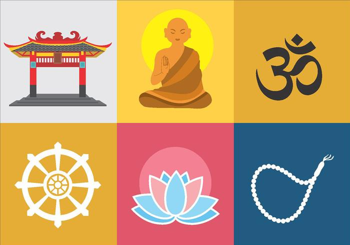 Buddah Symbol Vector Pack