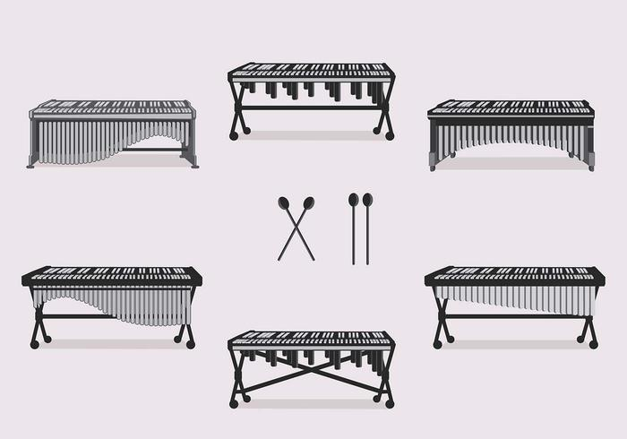 Marimba Traditional Vector