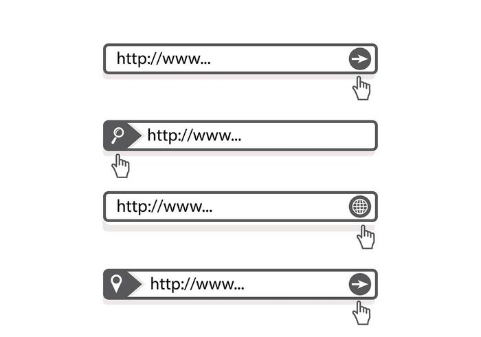 Address bar search engine vector