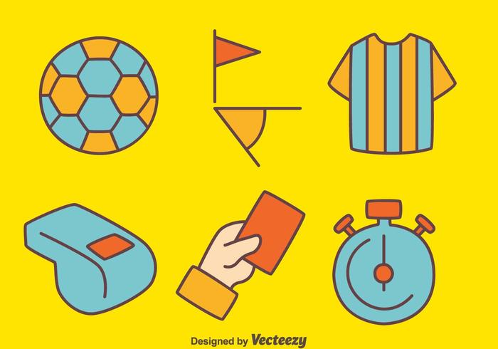Soccer Umpire Element Vector