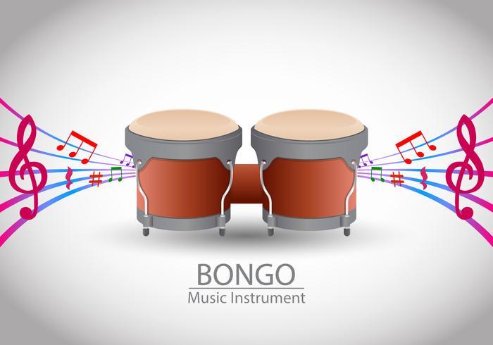 Bongo Muziek vector