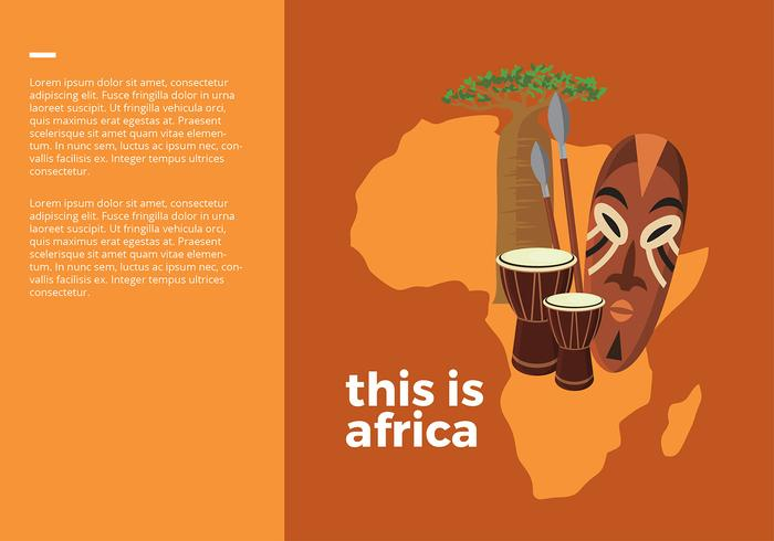 This is Africa Free Vector