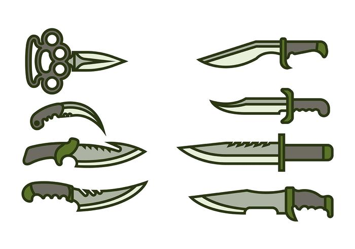 Bayonet Icon Vector