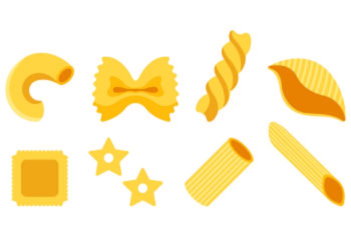 Set Of Macaroni Icons