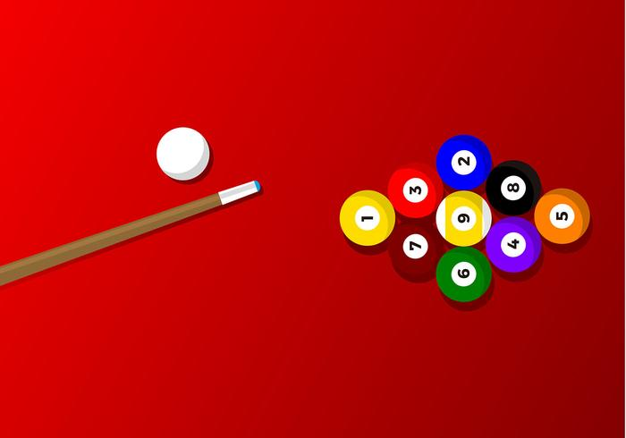 9 Ball Game Free Vector