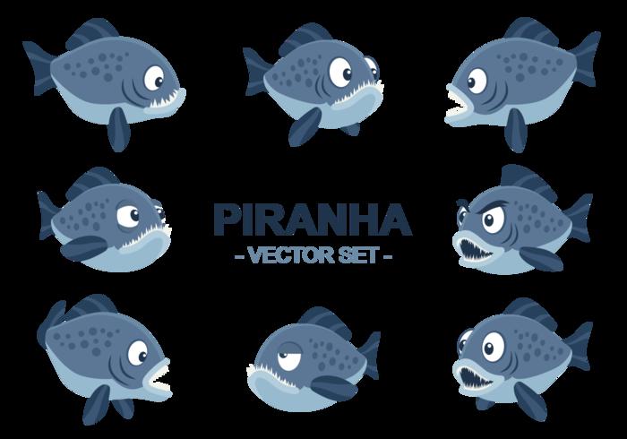 Piranha vector de dibujos animados - Descargue Gráficos y Vectores ...