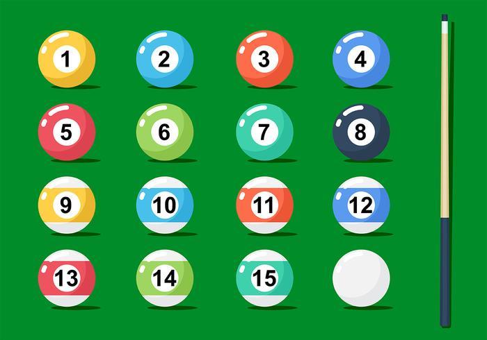 Billard Ball Vektor