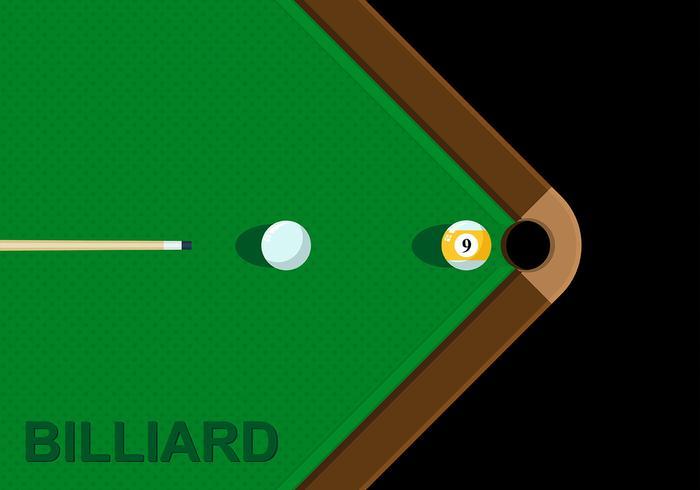 Billiards Background Vector