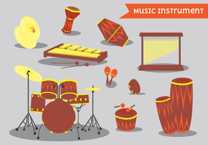 Bongo And Percussion Instrument Pack