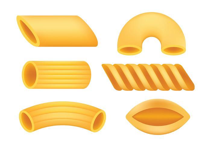 Macaroni Vector Pictogrammen