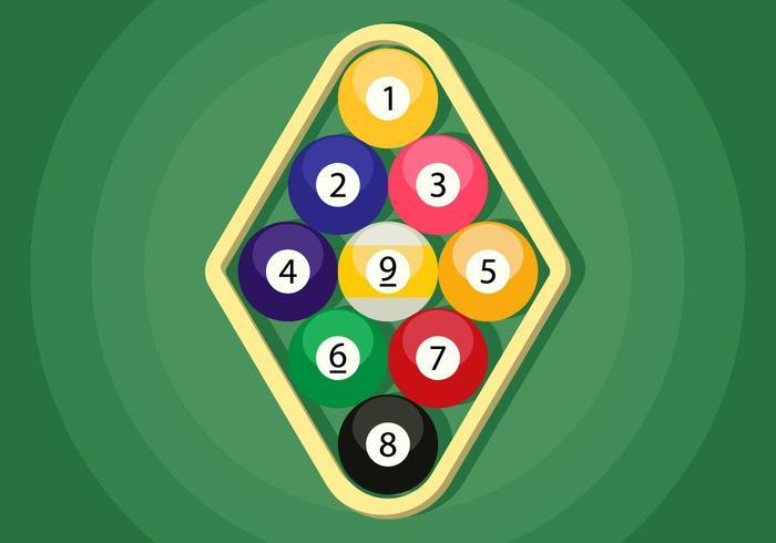 9 Ball Illustration