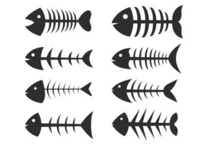 Conjunto de ícones Fishbone