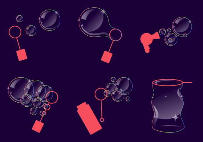 Bubble Blower Vector