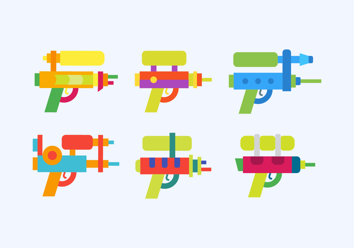 Watergun Vector