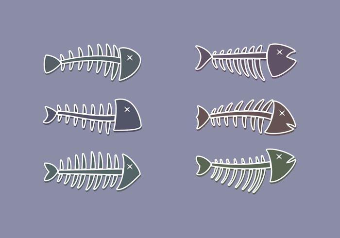 Free Outstanding Fishbone Vector