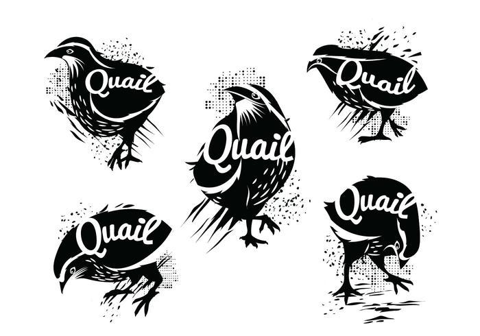 Illustration de Silhouette de morceaux communs debout avec style grunge