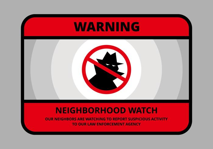 Neighborhood Watch Illustration